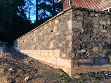 Stone Wall Masonary